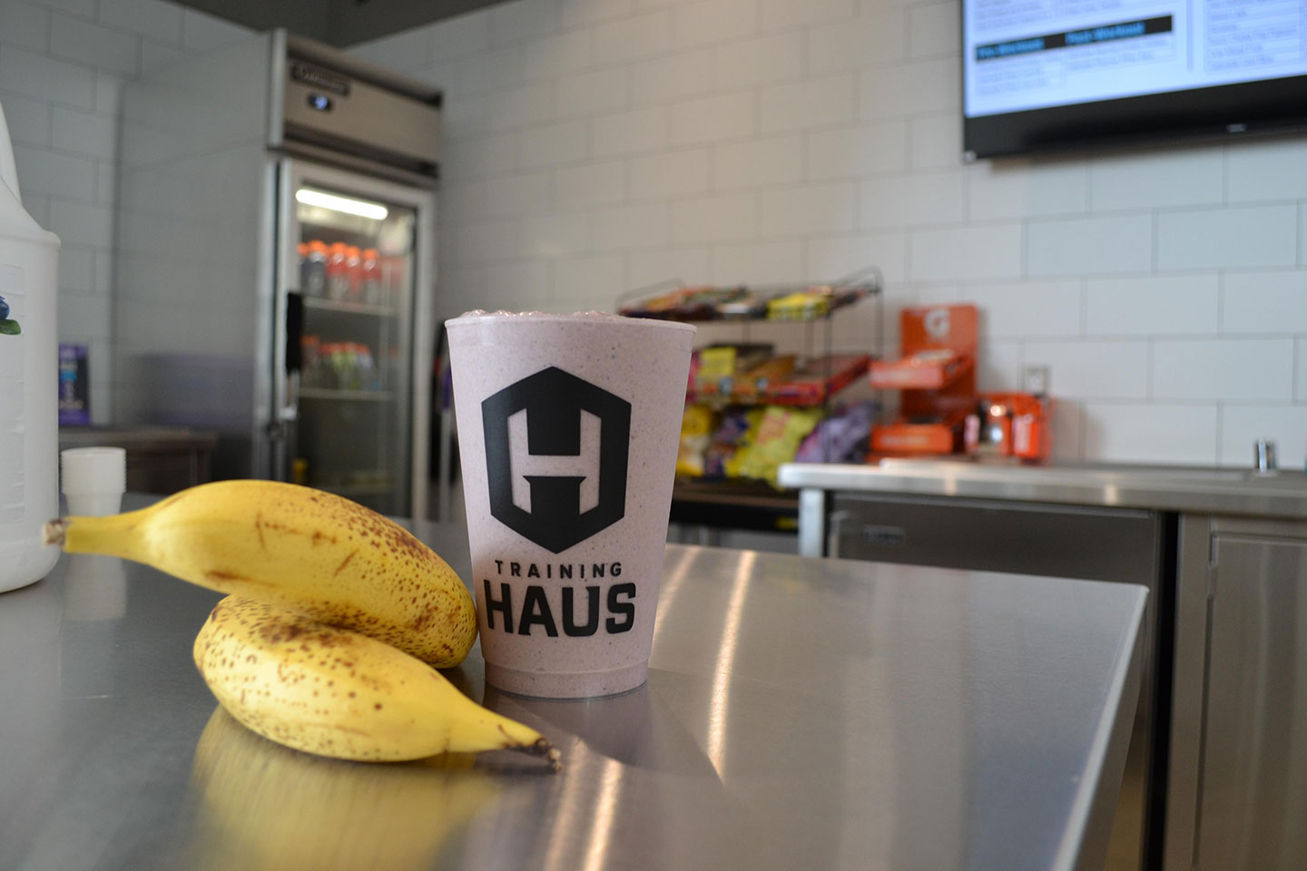 Training Haus recovery food