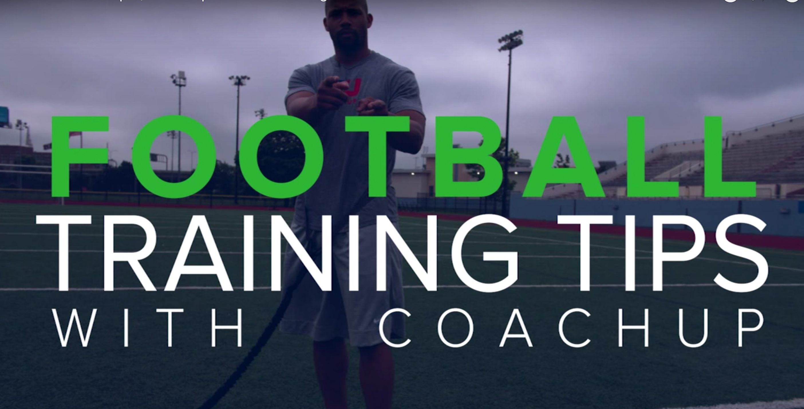 Football Training Tips with CoachUp