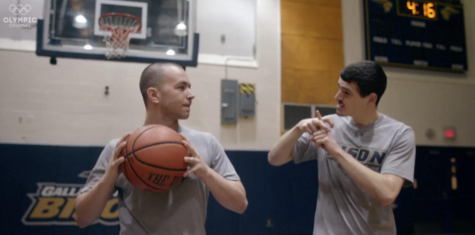 Body+ | Meet Gallaudet the Only Deaf College Men's Basketball Team in America