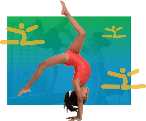 Girl in Gymnastics