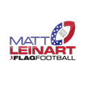 Matt Leinart flag football logo