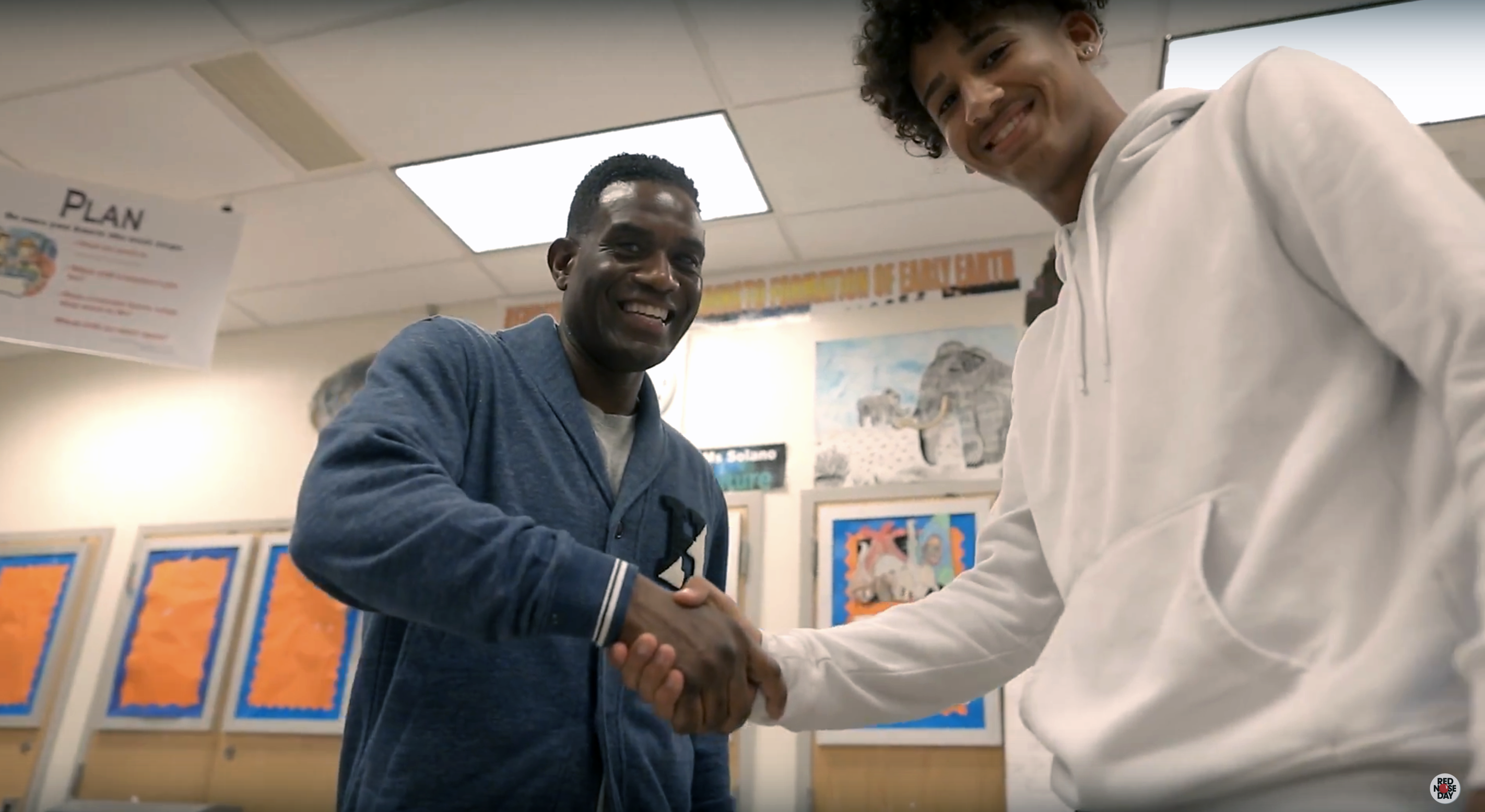 How Red Nose Day Helps: Robbie Earle Inspires On and Off the Soccer Field in the Bronx