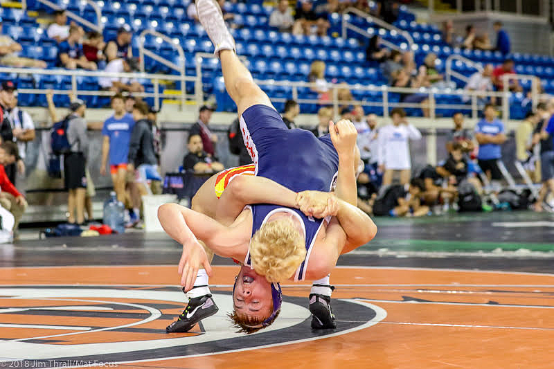 Wrestler Carson Manville photo