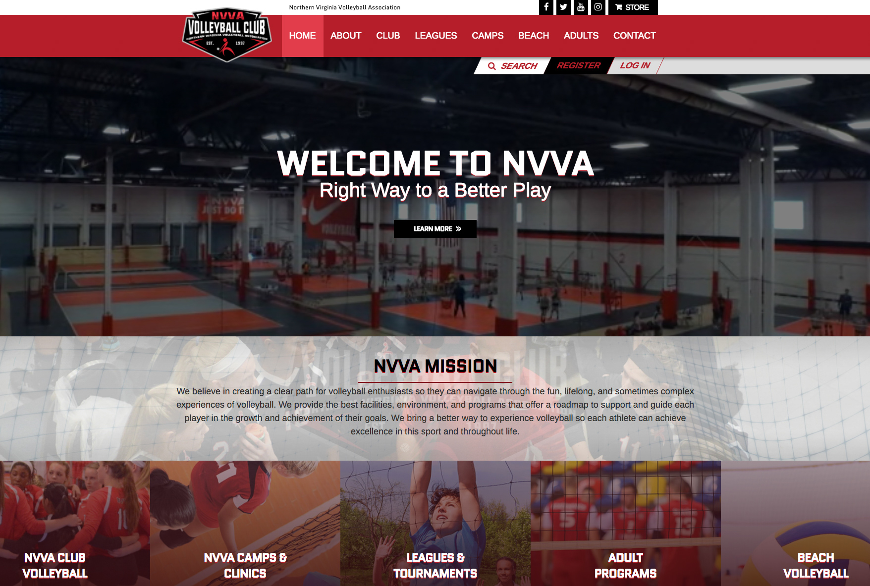 Top Volleyball Sites Stretch From Sea To Shining Sea Sportsengine