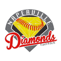 Naperville Diamonds Softball Logo