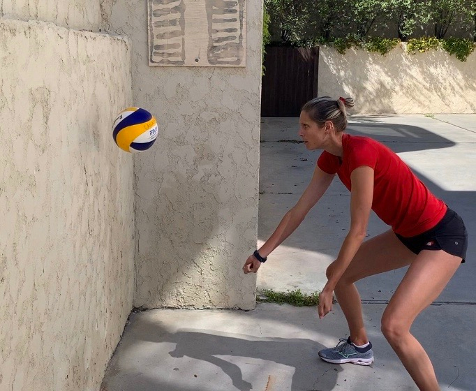 Sarah Paven Volleyball