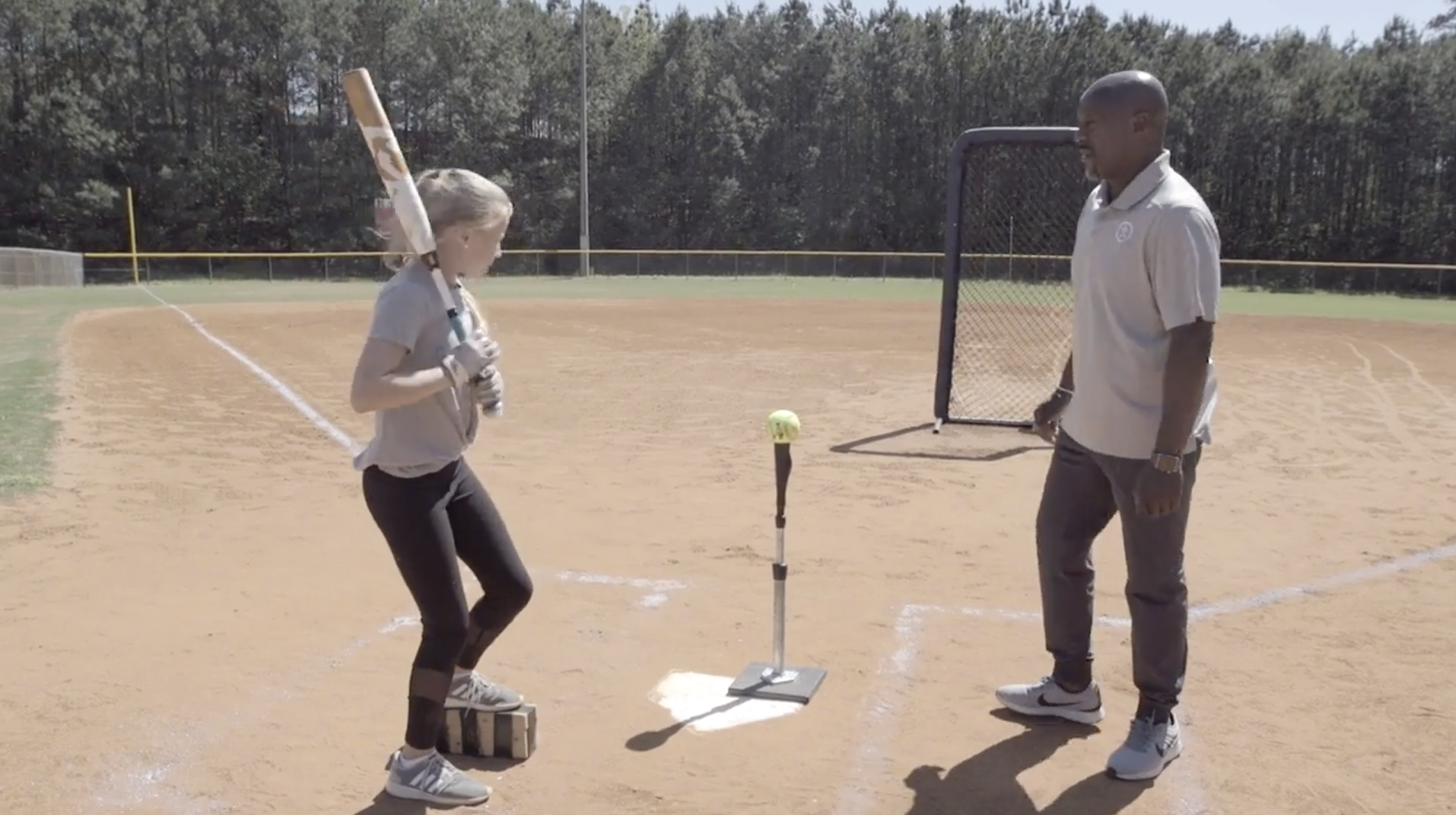 Softball Training Tips- Elevating Foot Force