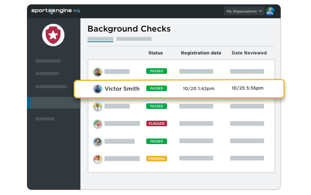 Background Checks UI Illustration