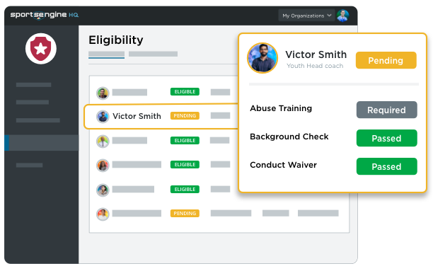 Eligibility UI Illustration
