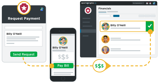 Invoicing UI Illustration