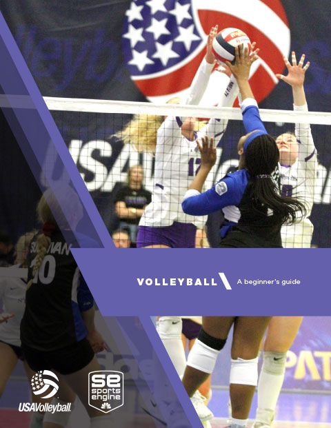 Volleyball – A Beginner's Guide Cover