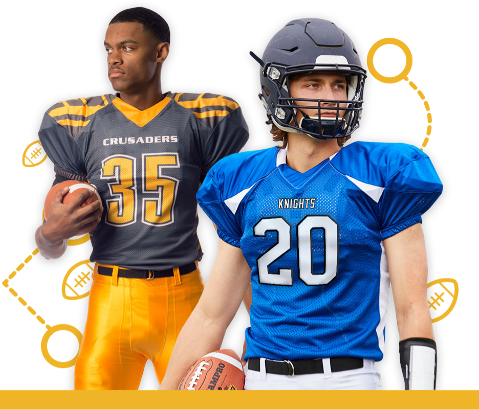 Football Gear & Uniforms for Teams, Leagues and Families ...
