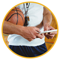 Basketball Coach Using Technology