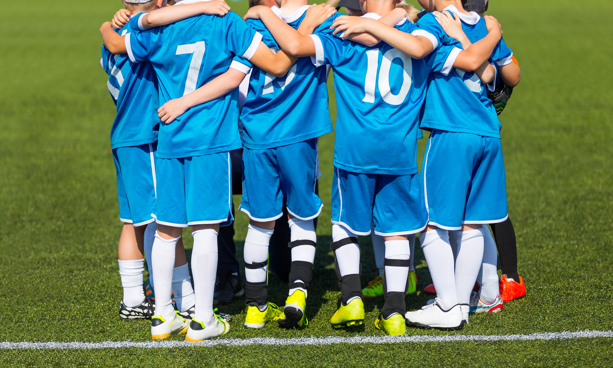 Youth Soccer Huddle