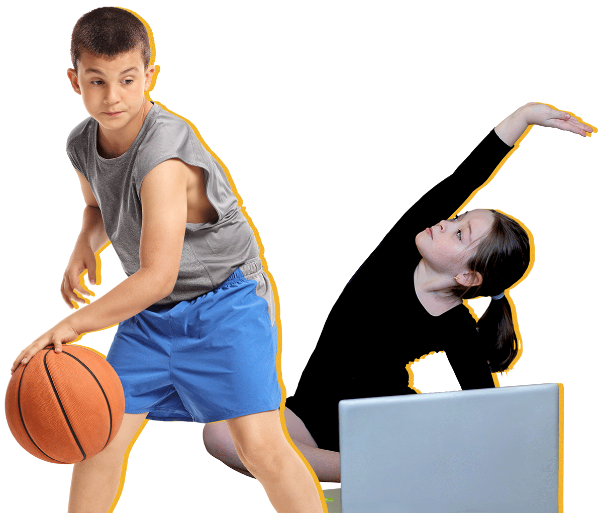 Basketball Boy Dance Girl