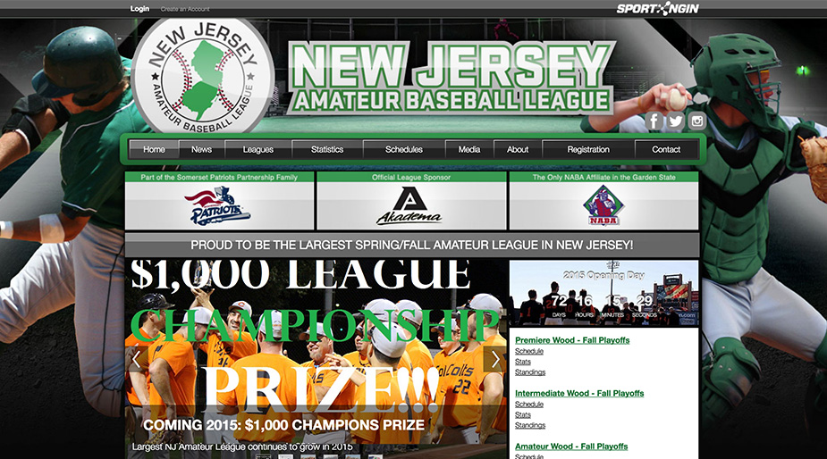 New Jersey Amatuer Baseball League