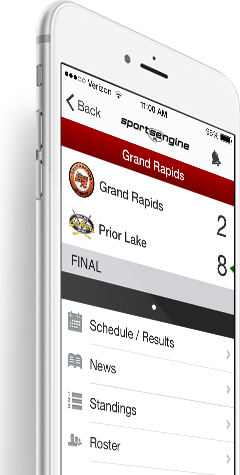 SportsEngine Mobile for iPhone