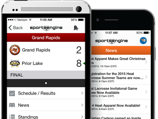 SportsEngine Mobile