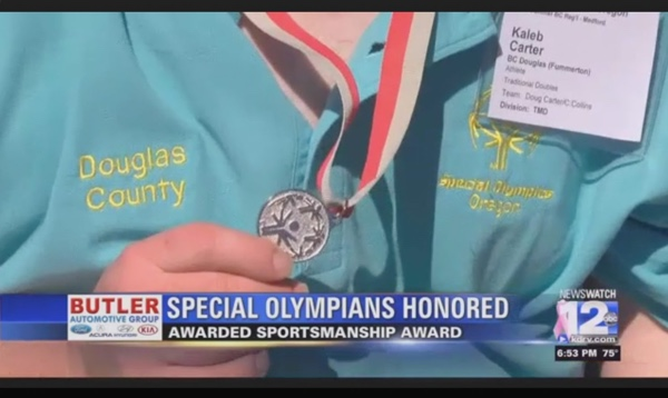 Oregon Special Olympians to be Honored for Sportsmanship