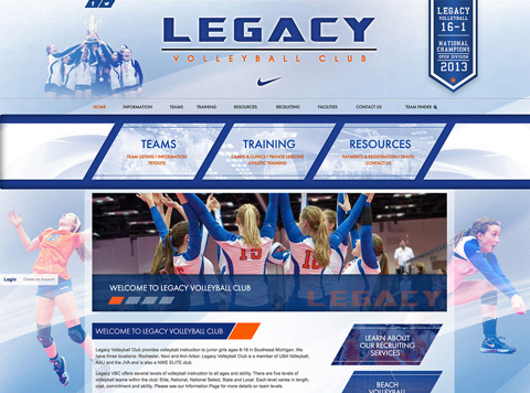 Legacy Volleyball