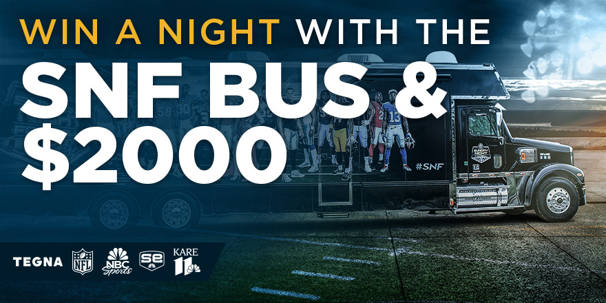 Win a night with the SNF Bus & $2000