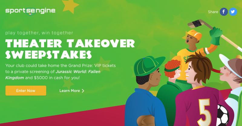 Theater Takeover Sweepstakes