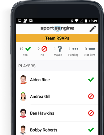 Manage your team from your mobile device