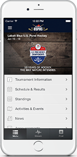 Tourney Mobile App